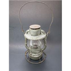 "Marked Boston & Albany Railroad Lantern- Embossed Glass- Dietz Vesta- 10""H X 6.75""W"