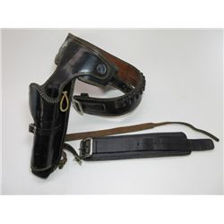 Marked Alfonso Holster and Gun Shop Quick Draw Gun Belt- 25 Loops- Anchor Marked Buckles