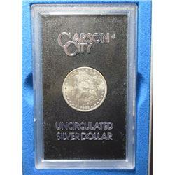 1883 Carson City Uncirculated Morgan Dollar