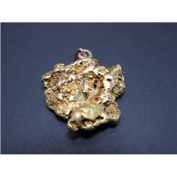 4 Tenths Troy Oz Alaskan Placer Gold Nugget