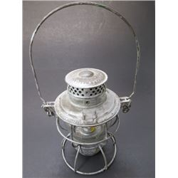 "Marked NP on Glass Railroad Lantern- Adlake No. 250 Kero- New York- Chicago- Phila- 9""H X 6""W"