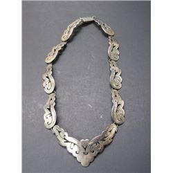 Marked 925 Mexico TA-48 Necklace- 8""