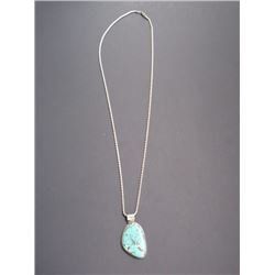Marked TYTX Turquoise Necklace- 18""