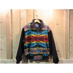 Pendleton Jacket- 82% Wool 18% Cotton- Size L