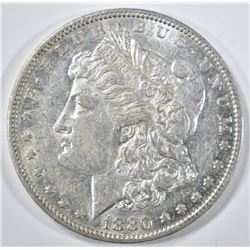 1880-O MORGAN DOLLAR  AU BU