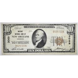 1929 $10 TYPE 1 NATIONAL CURRENCY