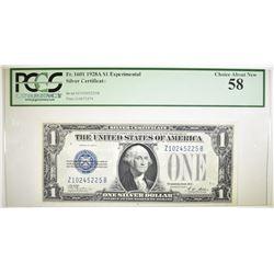 1928A $1 SILVER CERTIFICATE  PCGS 58