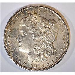 1879-O MORGAN DOLLAR BU CLEANED