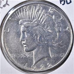 1922-S PEACE DOLLAR