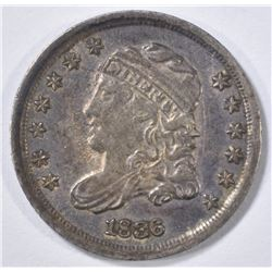 1836 BUST HALF DIME  XF/AU