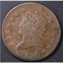 1810 LARGE CENT  AU/BU