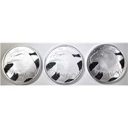 3-PLEDGE OF ALLEGIANCE  1-OUNCE .999 SILVER ROUNDS