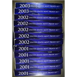 PROOF SETS FROM THE 2000'S