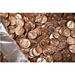 1000-BU P&D MIXED LINCOLN CENTS: 1959-69