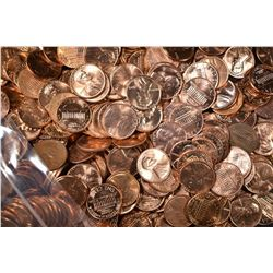 1000-BU P&D MIXED LINCOLN CENTS: 1970-79