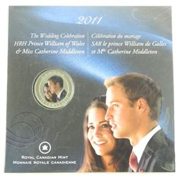 RCM 2011 25 Cents Royal Wedding Folio