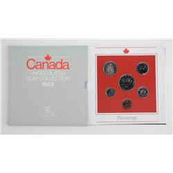 Royal Mint Canada 1983 UNC Coin Collection