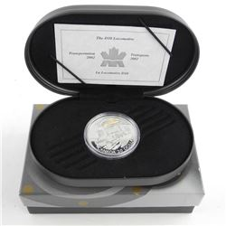 RCM 925 Sterling Silver $20.00 Proof Coin 'The D-10-Locomotive' with C.O.A.