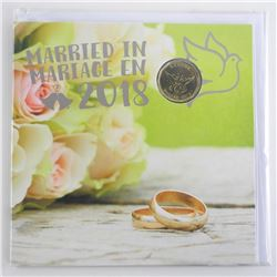 Married in Marriage 2018 UNC Coins - Gift Folio Special Loon