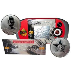 NHL All Stars - Stamp and Medallion Set 'Bobby Hull'