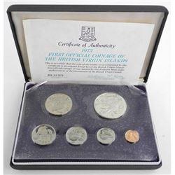 1973 British Virgin Islands Silver Mint Sets 925 Sterling