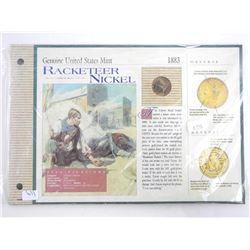 Genuine USA Mint 1964 JFK Half Dollar in Display