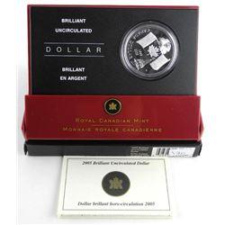 RCM 2005 BU Silver Dollar