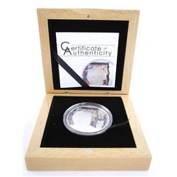 .9999 Fine Silver $5.00 Proof Coin 25 Years 'Fall of the Berlin Wall' Low Mintage 2014 pcs with C.O.