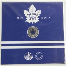 2017 .9999 Fine Silver $3.00 Coin 100th Anniversary Toronto Maple Leafs