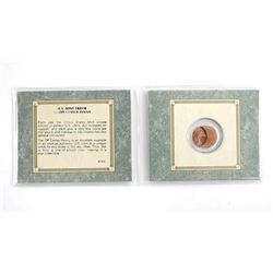 USA Mint Error OFF Center Penny