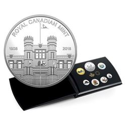 2018 .9999 Fine Silver Coloured Coin Set Classic Coins