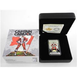 2018 .9999 Fine Silver $20.00 Coin 'Captain Canuck' LE/C.O.A. SOLD OUT