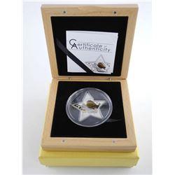 .9999 Fine Silver $5.00 Proof. LE/C.O.A. Christmas 2013