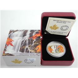 .9999 Fine Silver $20.00 Coin 'Autumn Falls' LE/C.O.A.