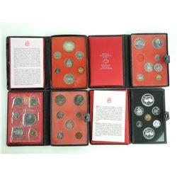 Group of (4) RCM Prestige mint Sets