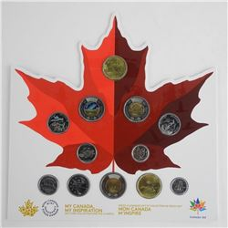 MY CANADA - My Inspiration 2017 Coin Collection and the Classics with Glow in the Dark 2.00 Canada 1