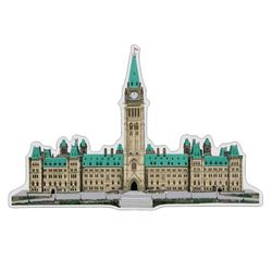 Parliament Buildings - Ottawa .9999 Fine Silver 100 grams with Display