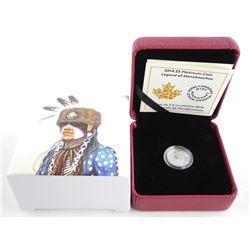 .999 Fine Pure Platinum 5.00 Coin, Legend of Nanaboozhoo