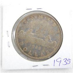 1935 Canada Silver Dollar
