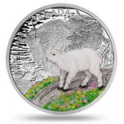 The Mountain Goat LE Stamp and Coin Set .9999 Fine Silver $20.00 LE 4000