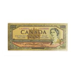 24kt Gold Leaf Canada 1954 1000.00 Note