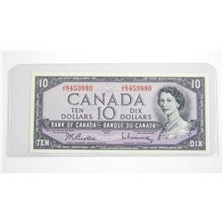 Bank of Canada 1954 Ten Dollar Note. B/R (JN)