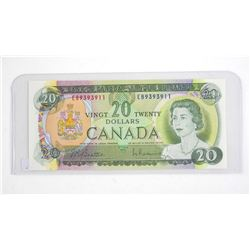 Bank of Canada 1969 Twenty Dollar Note. (EB) B/R