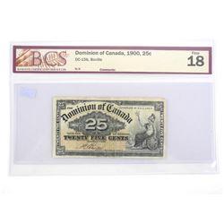 Dominion of Canada 1900 - Twenty Five Cent Boville