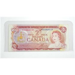 Bank of Canada 1974 *Replacement 2.00 Note L/B