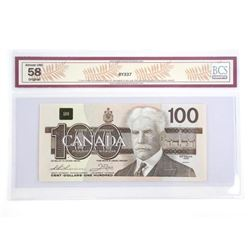 Bank of Canada 1988 One Hundred Dollar Note BC-60
