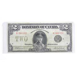Dominion of Canada 1923 - 2.00 Black Seal. DC-261