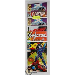 6 X-FORCE AND X-FACTOR COMICS