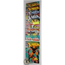 10 X-MEN COLLECTOR COMICS