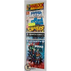 6 NUMBER 1S COLLECTORS COMICS